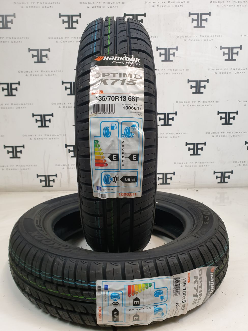 135/70 R13 68 T HANKOOK OPTIMO K715 DEMONTE